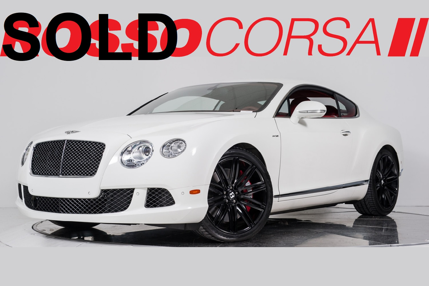 2013 Bentley Continental GT Speed ($253K MSRP)