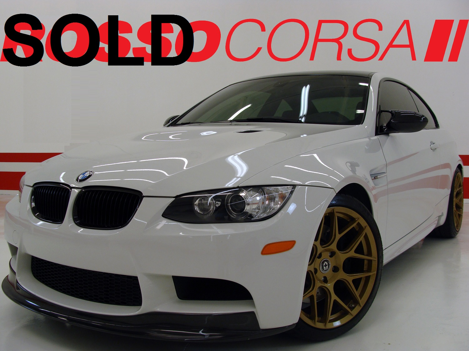 2013 CUSTOM BMW M3 Coupe / Competition + Premium Package / RARE MANUAL