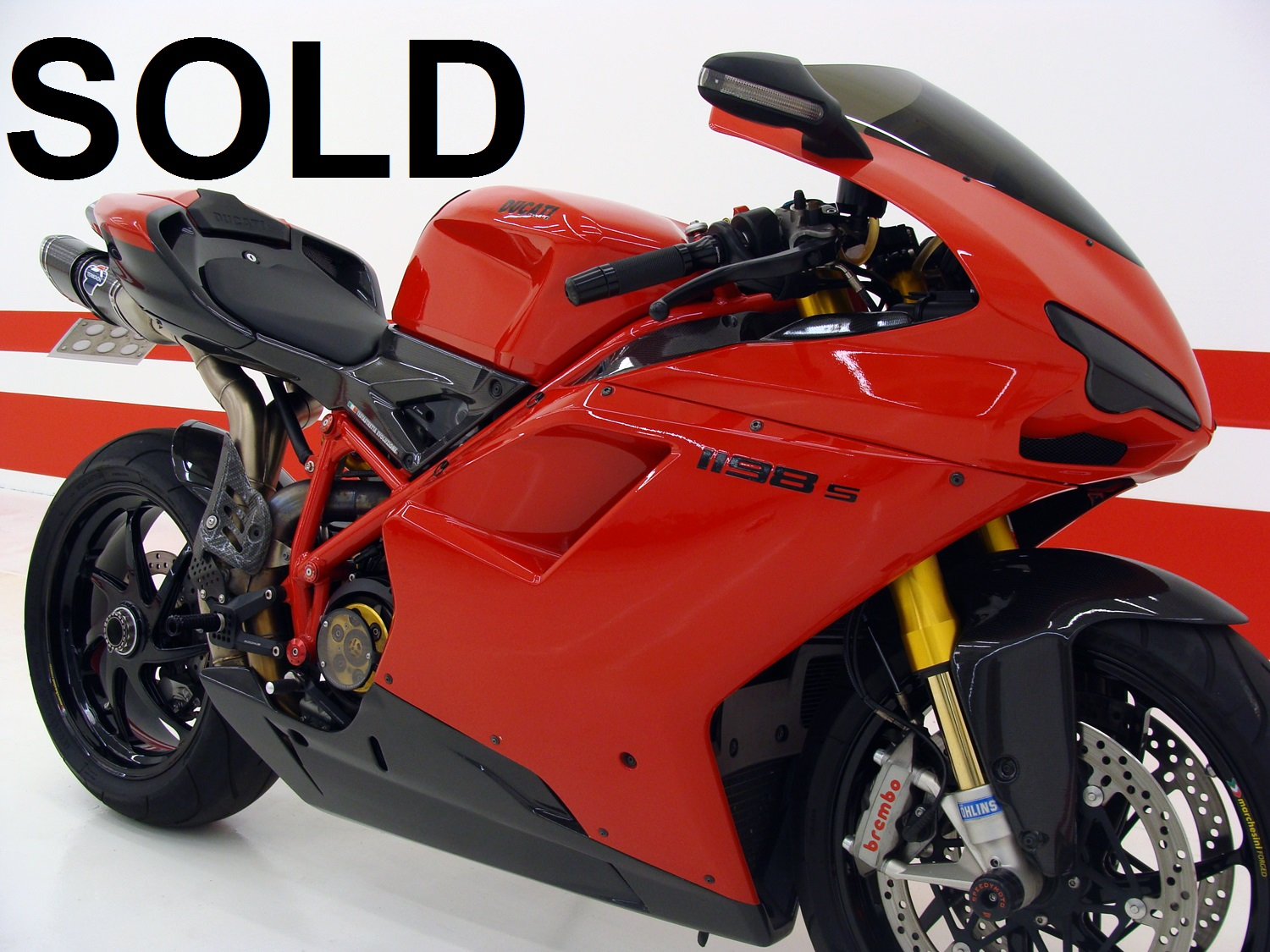 Ducati 1198S CUSTOM (Collector bike)