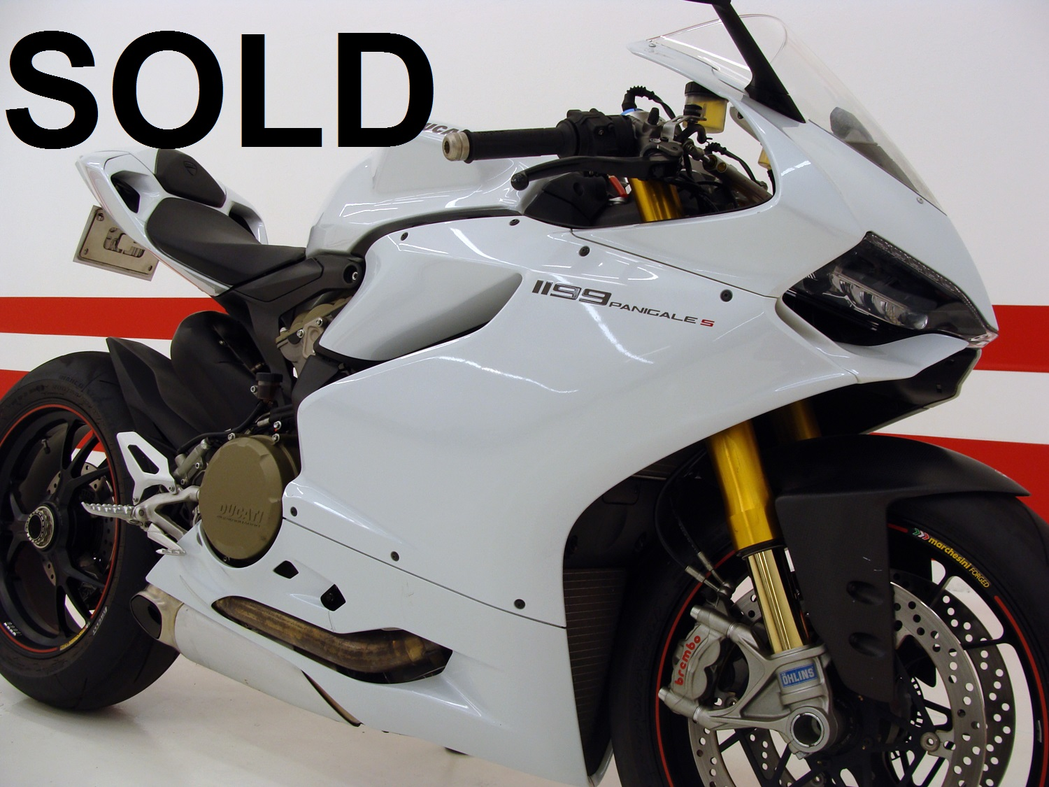 Ducati 1199 Panigale S / RARE FIND ONLY 390 MILES