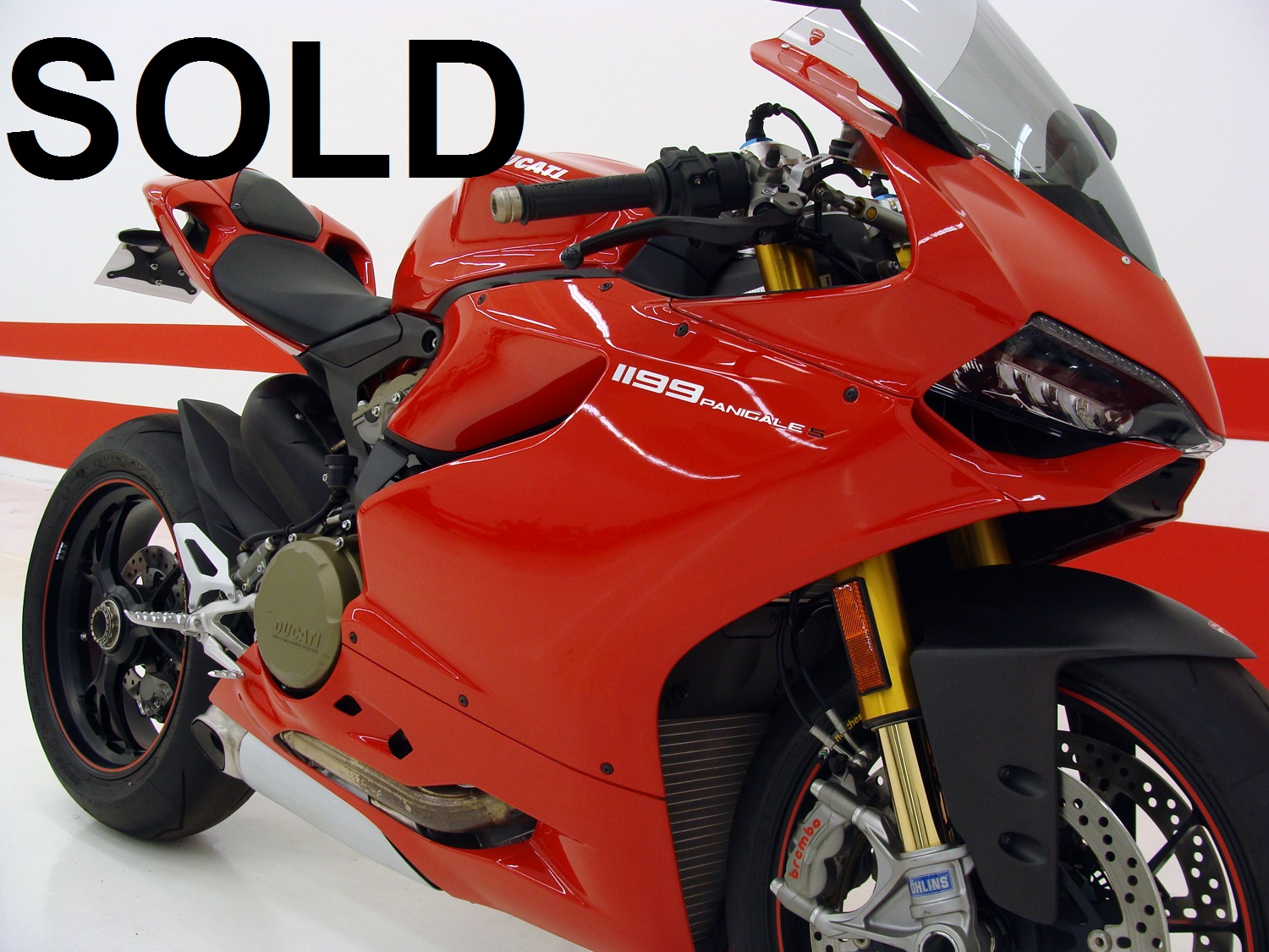 Ducati 1199 Panigale S (ABS) / RARE FIND ONLY 44 MILES