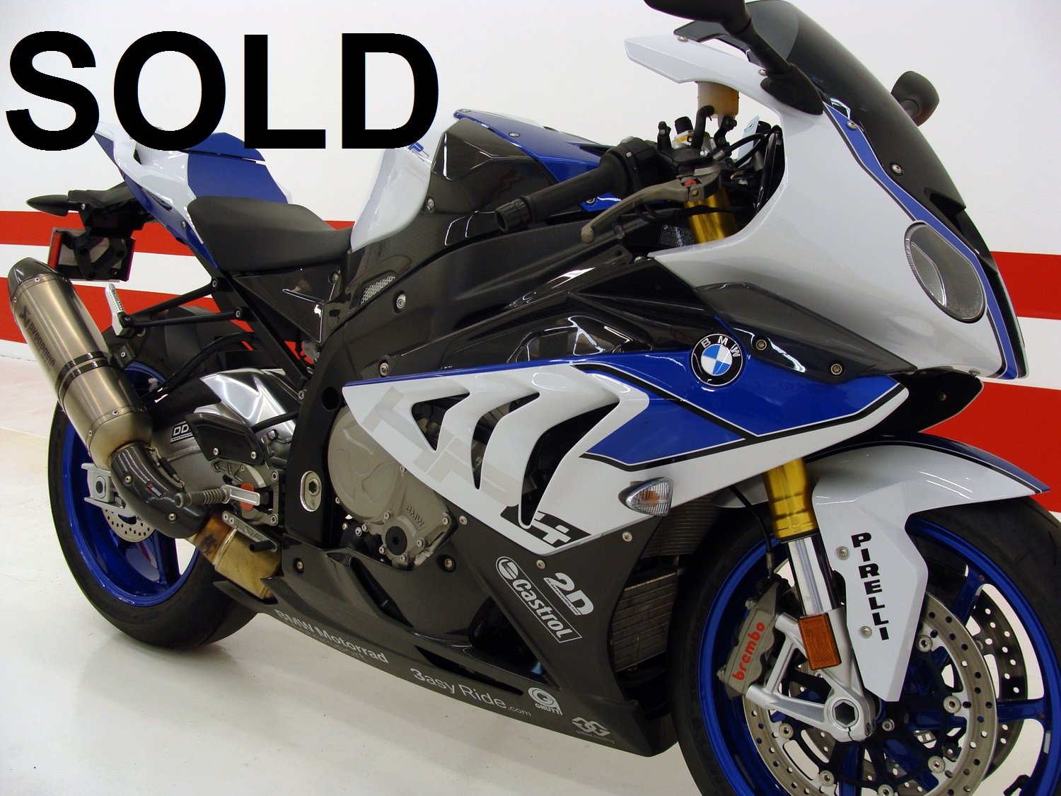 BMW HP4 COMPETITION  - Limited Numbered Bike (5606)