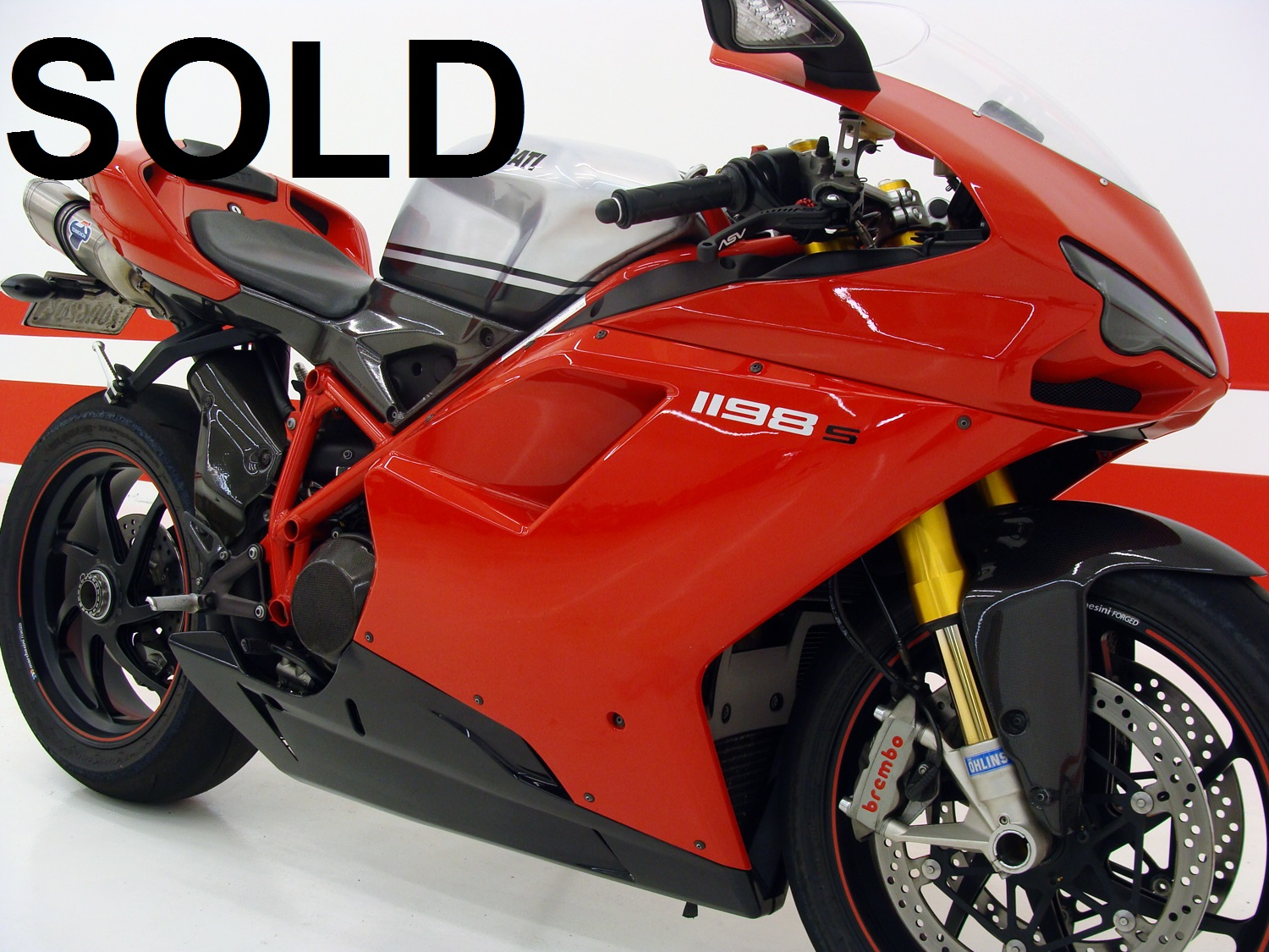 Ducati 1198S UPGRADED (Collector bike)