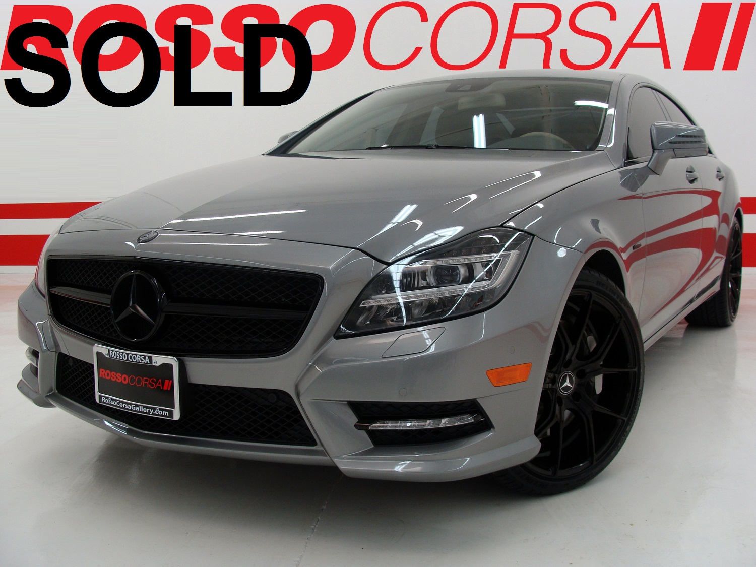 2012 Mercedes-Benz CLS550 CUSTOM ($81K MSRP)