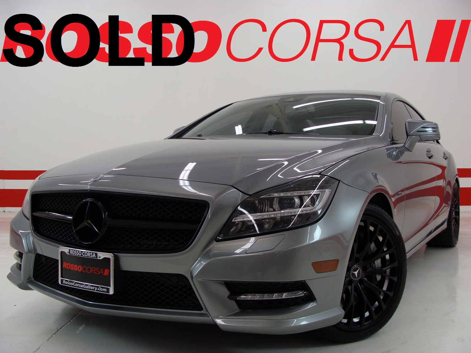 2012 Mercedes-Benz CLS550 CUSTOM ($82K MSRP)