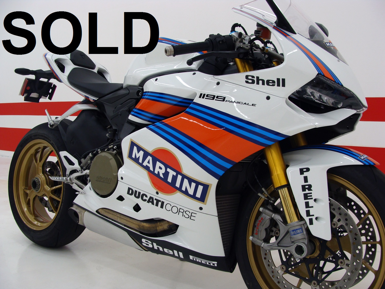 Ducati 1199 Panigale S MARTINI CORSE EDITION