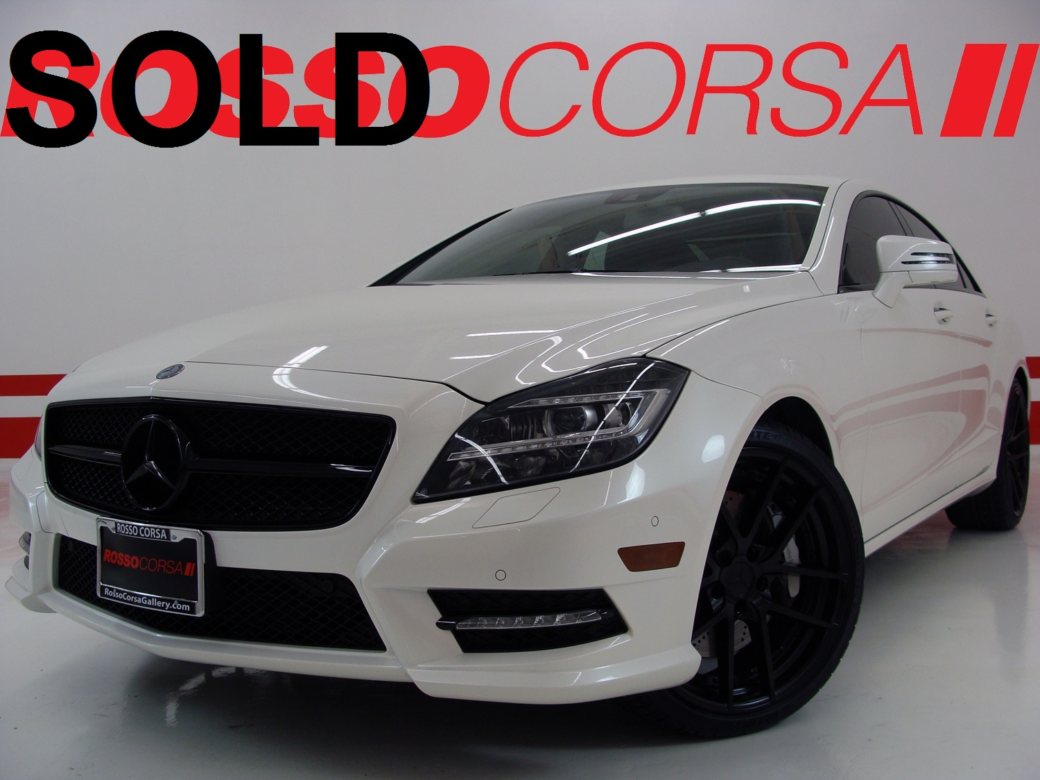 2013 Mercedes-Benz CLS550 CUSTOM ($81K MSRP)