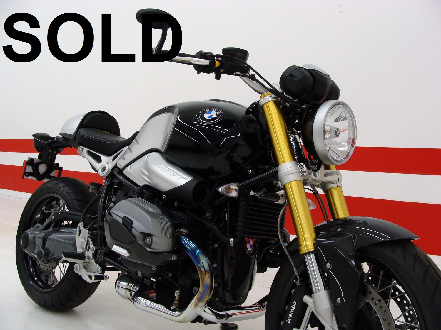 BMW R NineT / UPGRADED