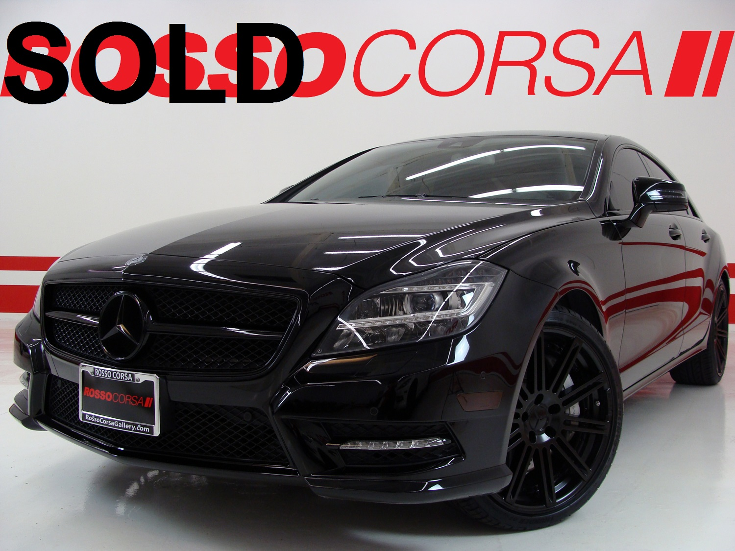 2013 Mercedes-Benz CLS550 CUSTOM ($82K MSRP)