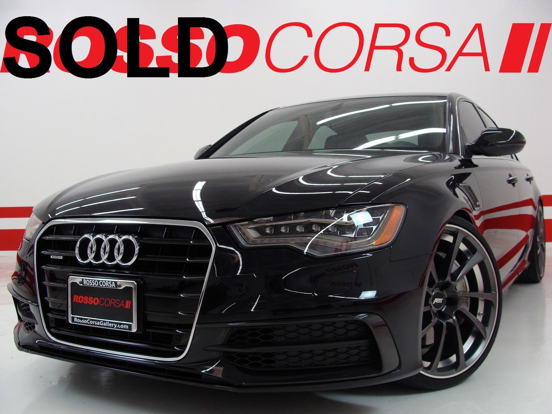 2015 Audi A6 S - Line Quattro ABT Edition ($78K MSRP)