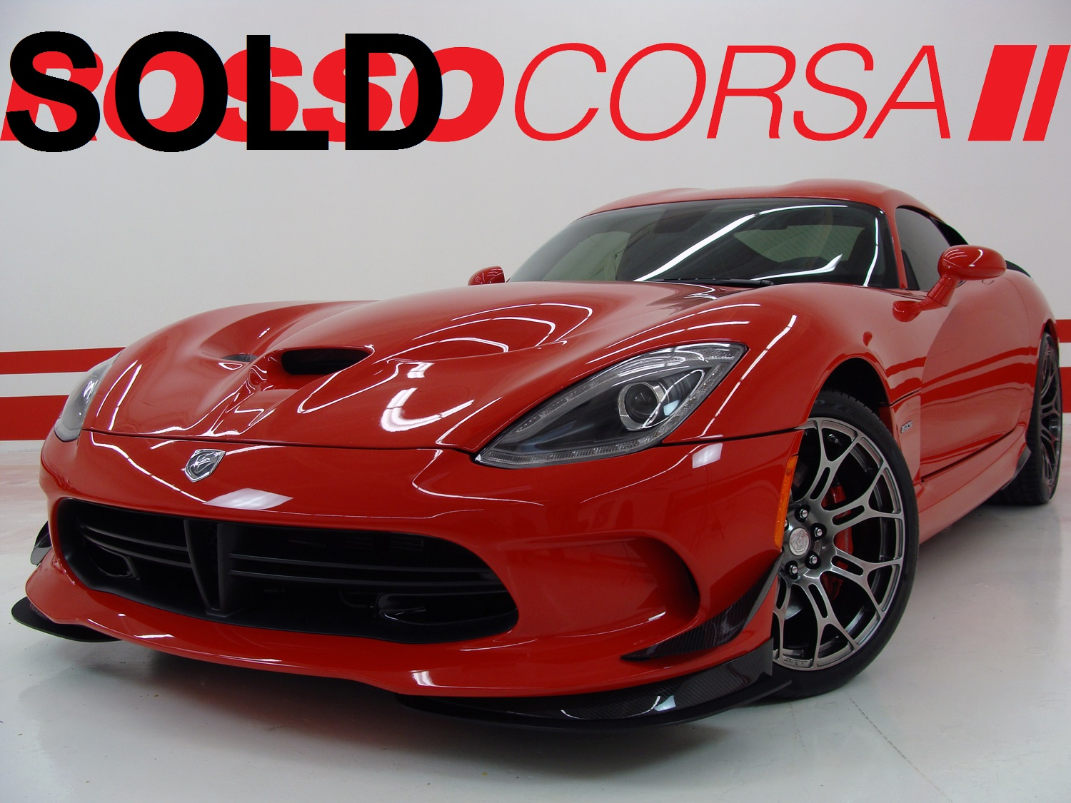 2013 Dodge SRT Viper GTS Coupe ($130K MSRP)