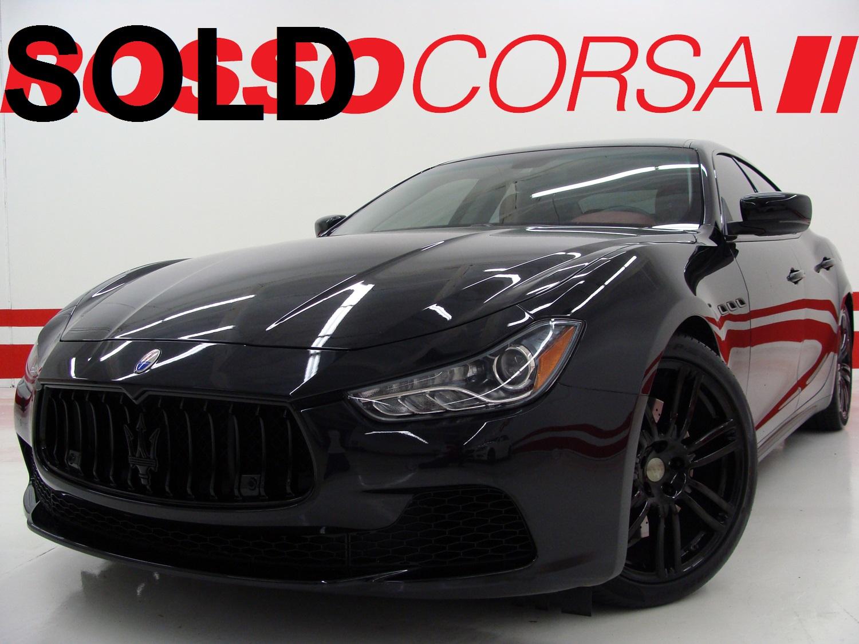 2015 Maserati Ghibli S Q4 CUSTOM ($93K MSRP)