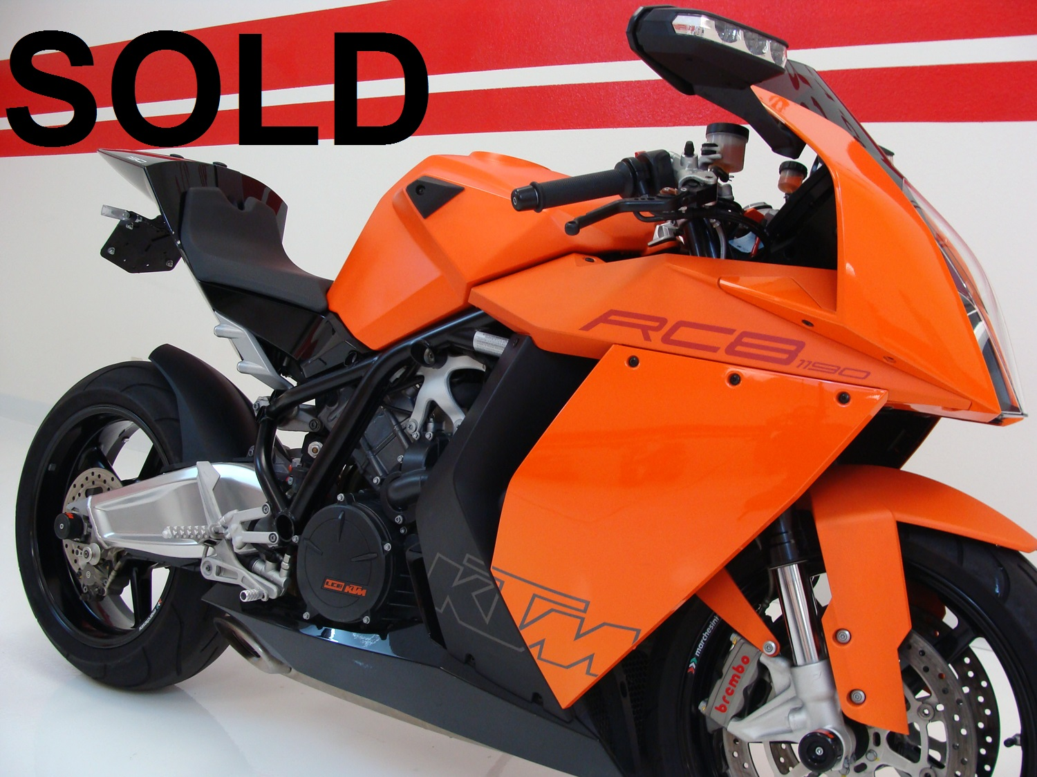 KTM RC8 Limited Edition