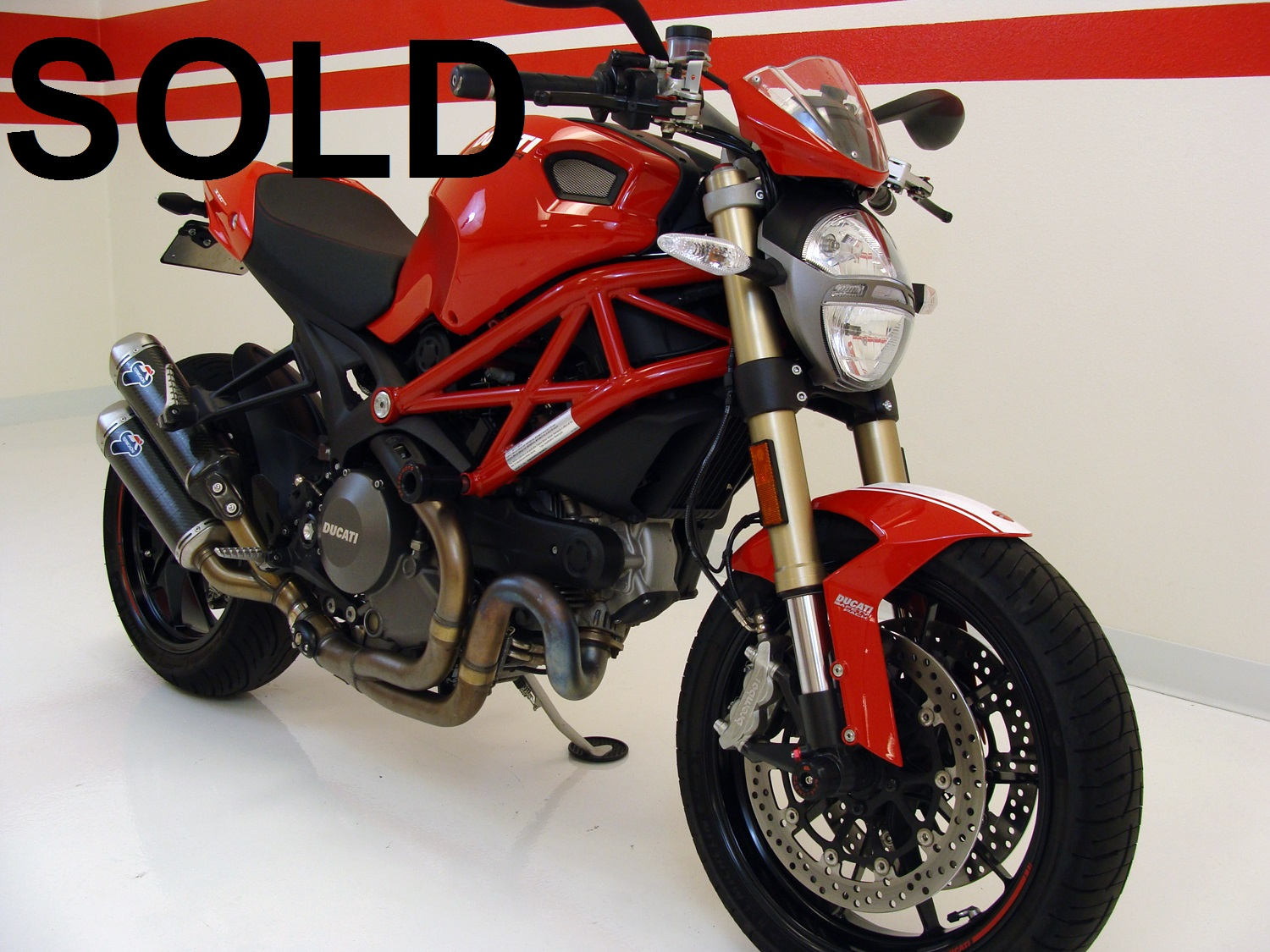 Ducati Monster 1100 EVO (ABS + DTC)