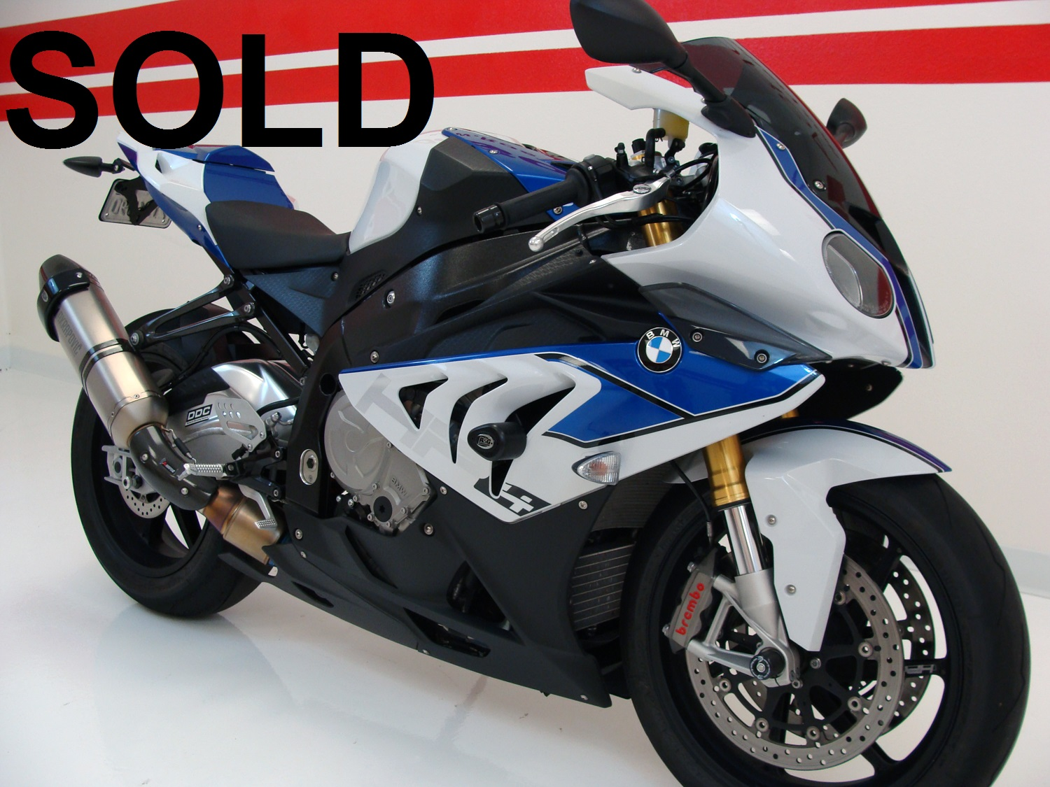 BMW HP4 (ABS) - Limited Numbered Bike (2091)
