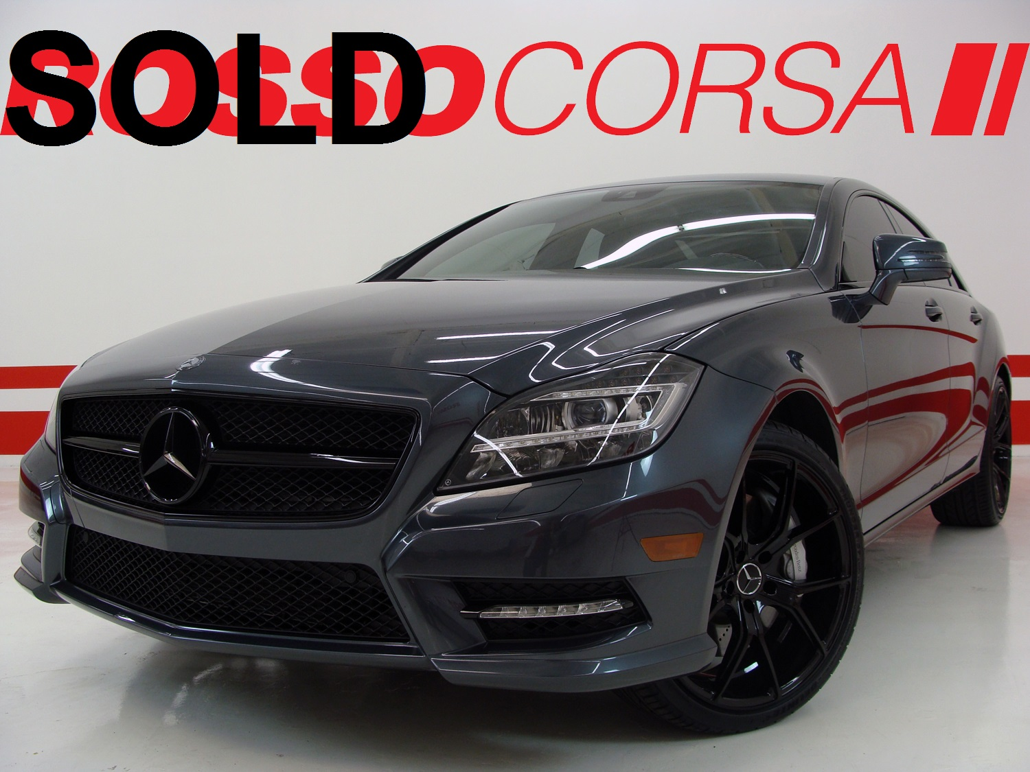 2013 Mercedes-Benz CLS550 CUSTOM ($83K MSRP)