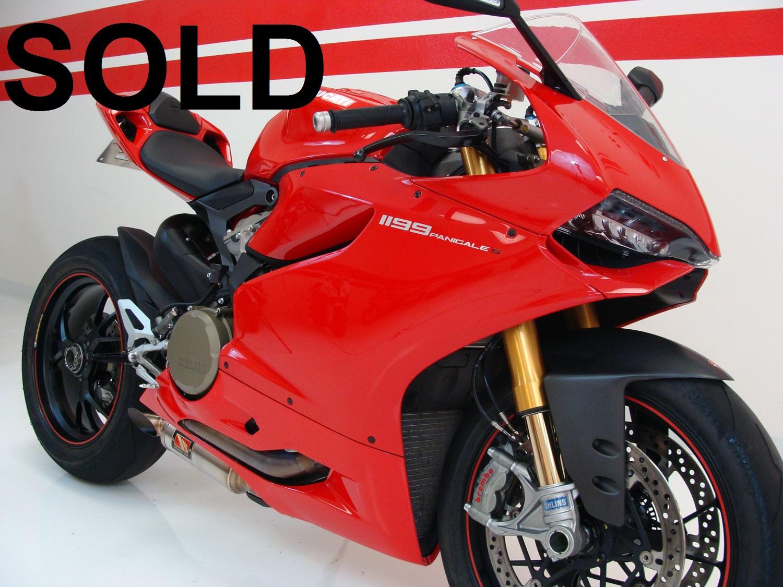 2012 Ducati 1199 Panigale S WERKES EDITION