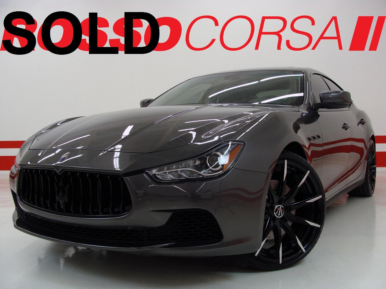 2016 Maserati Ghibli S Q4 CUSTOM ($92K MSRP)