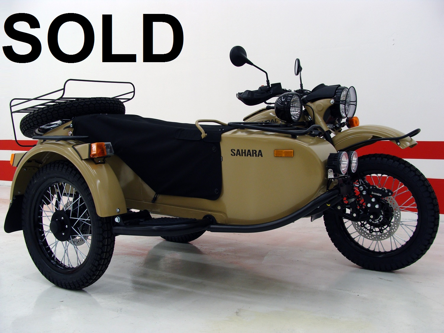 2017 Ural Gear Up Sahara Edition (2WD)