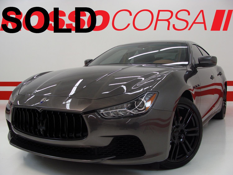 2016 Maserati Ghibli S Q4 CUSTOM ($93K MSRP)