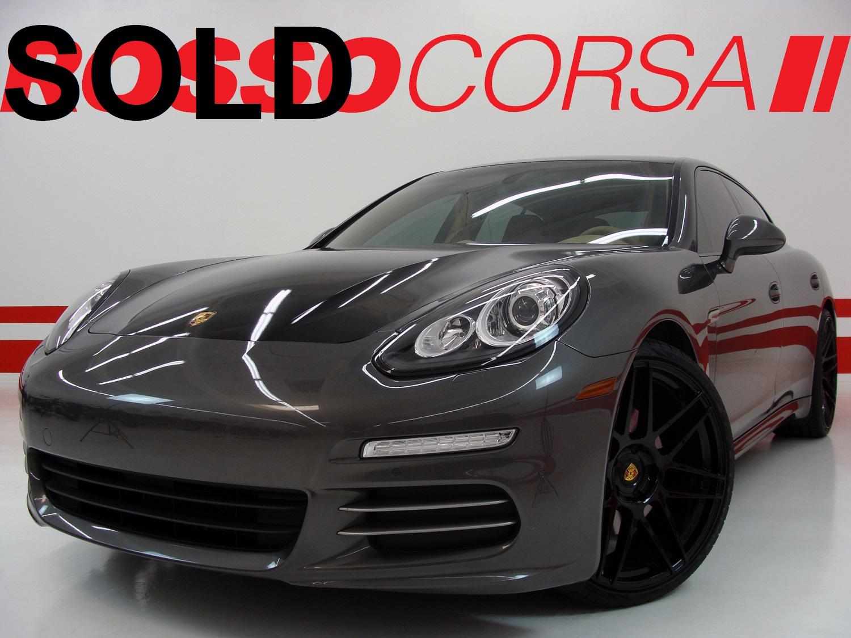 2014 Porsche Panamera 4 - CUSTOM ($99K MSRP)