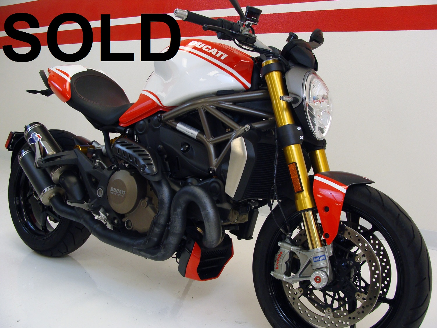 Ducati Monster 1200 S Desmosedici Edition