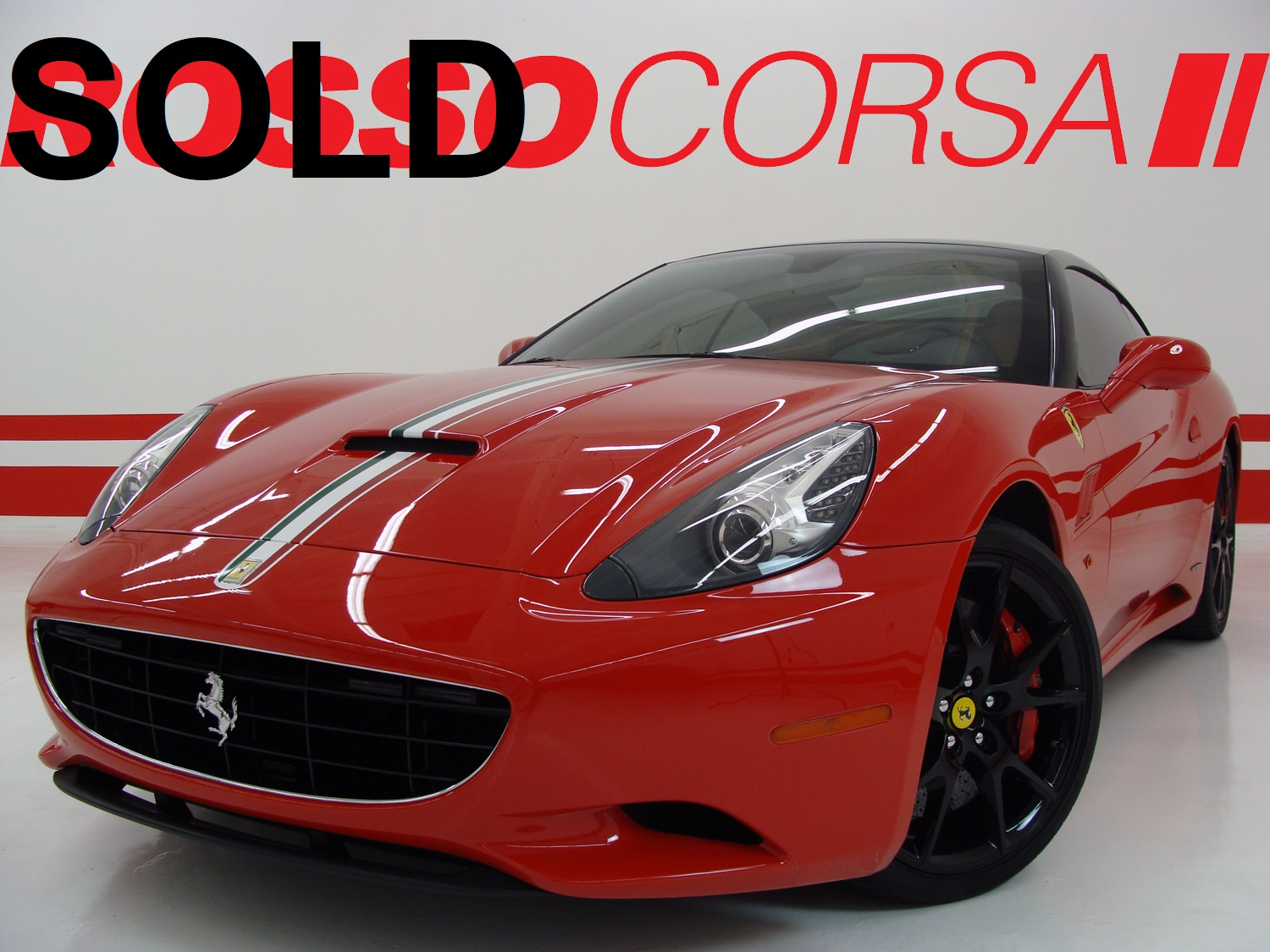 2010 Ferrari California - UPGRADES ($211K MSRP)
