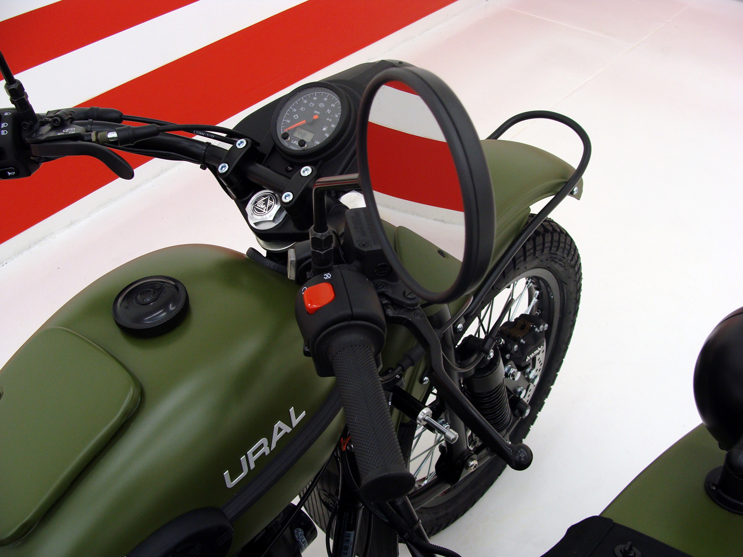 2017 Ural Gear Up (2WD) - SPECIAL ORDER MATTE GREEN