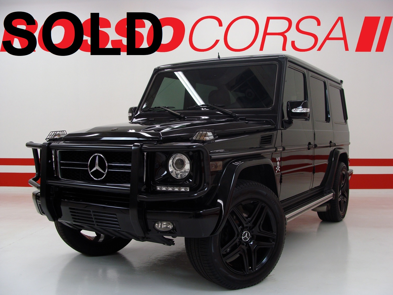 2009 Mercedes-Benz G550 - CUSTOM (Brabus upgrades)