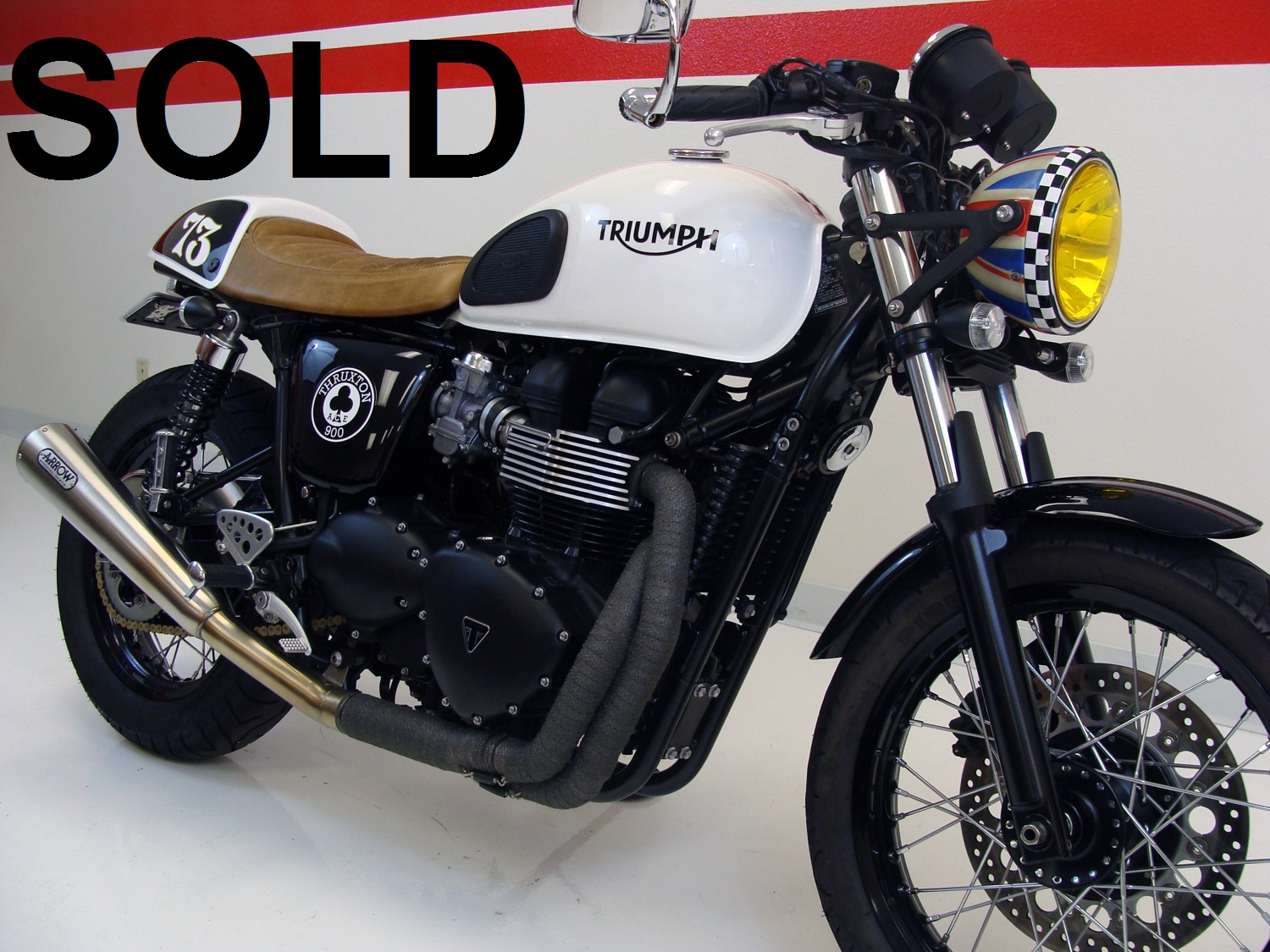 Triumph Thruxton Ace Cafe Special Edition