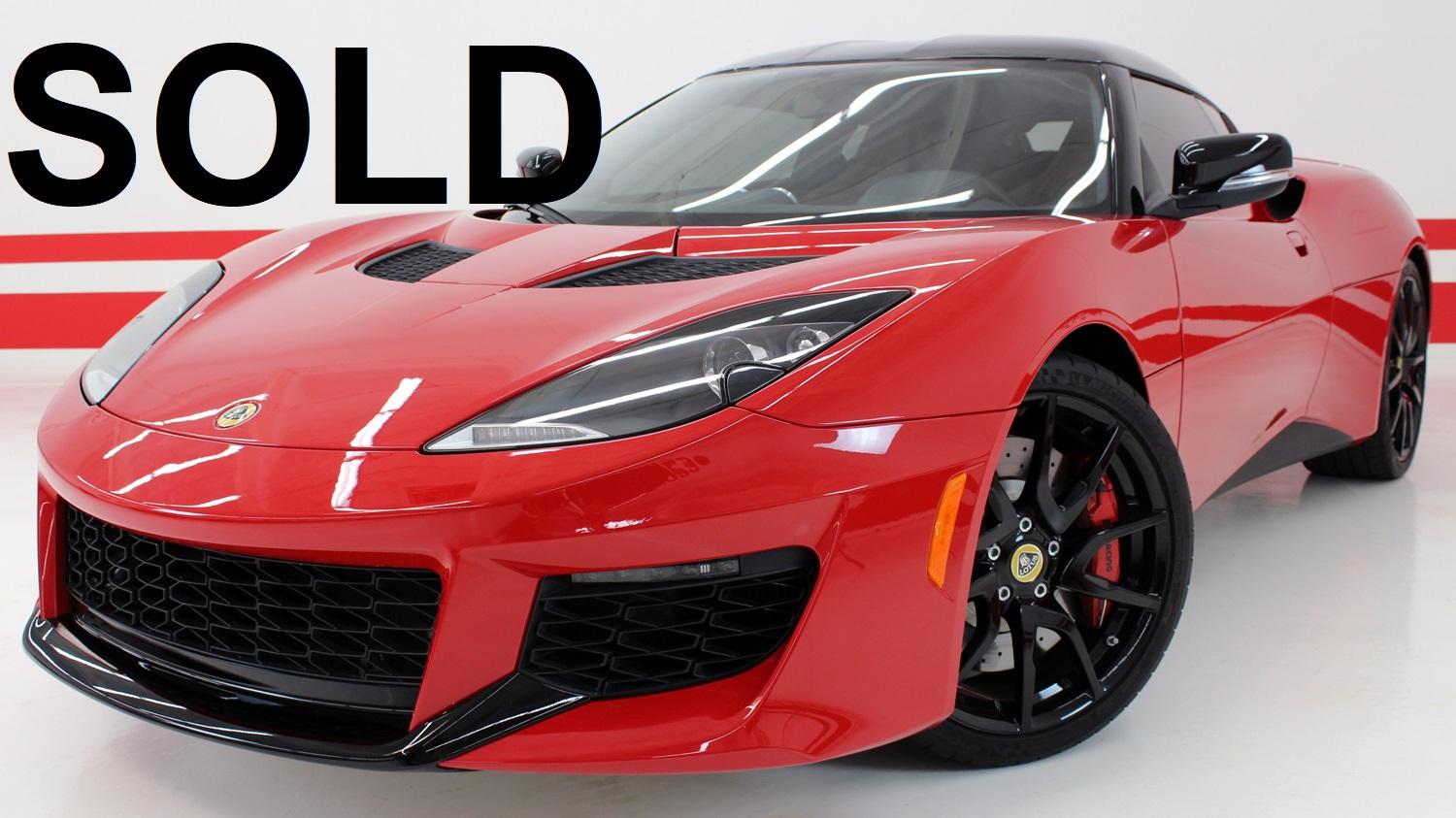 2017 Lotus Evora 400 ($110K MSRP)