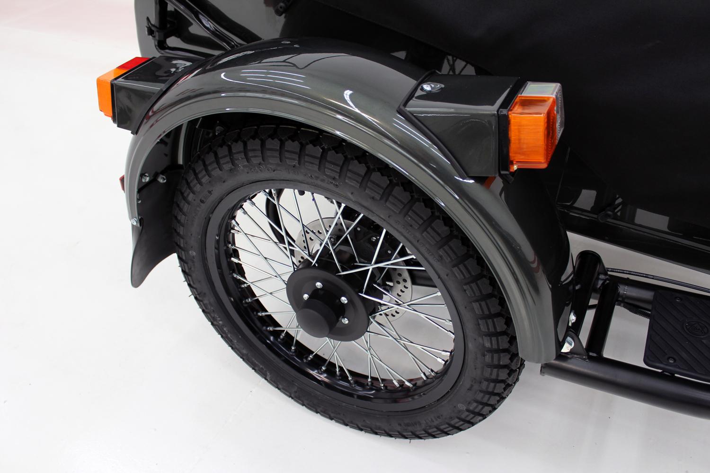 2017 Ural Gear Up (2WD) - SPECIAL ORDER CASCADE GREEN METALLIC