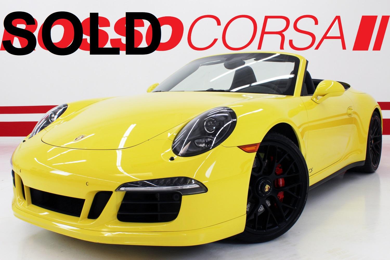 2015 Porsche 911 Carrera GTS Cabriolet ($141K MSRP)