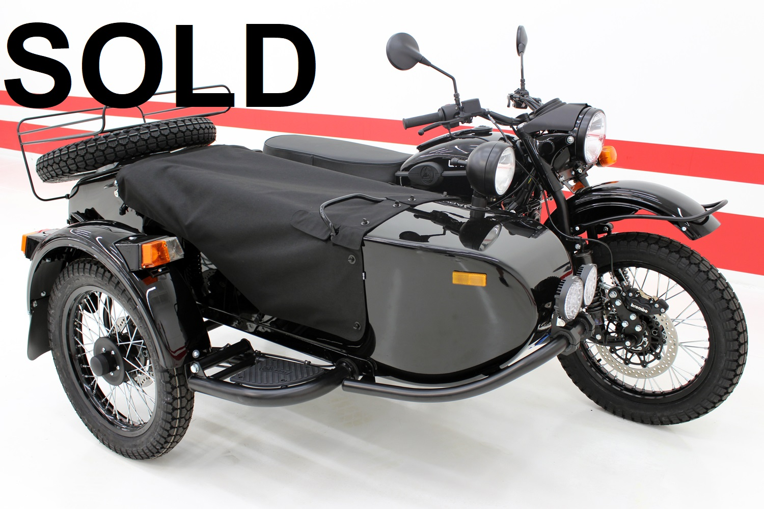 2017 Ural Gear Up (2WD) - SPECIAL ORDER BLACK EDITION