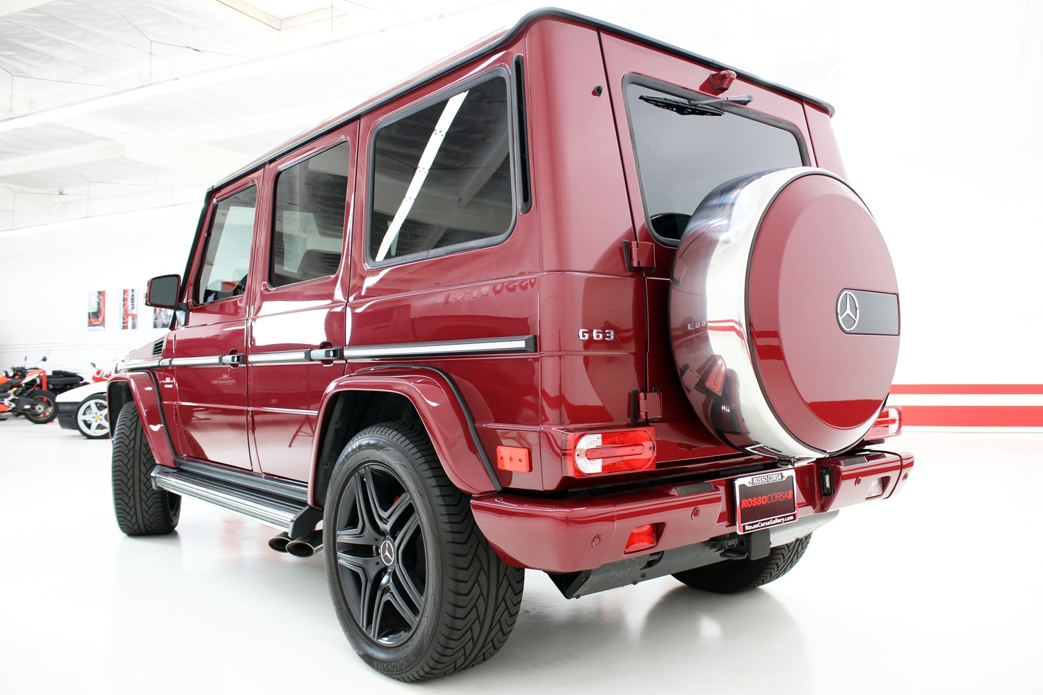2014 Mercedes-Benz G63 AMG  ($175K MSRP)