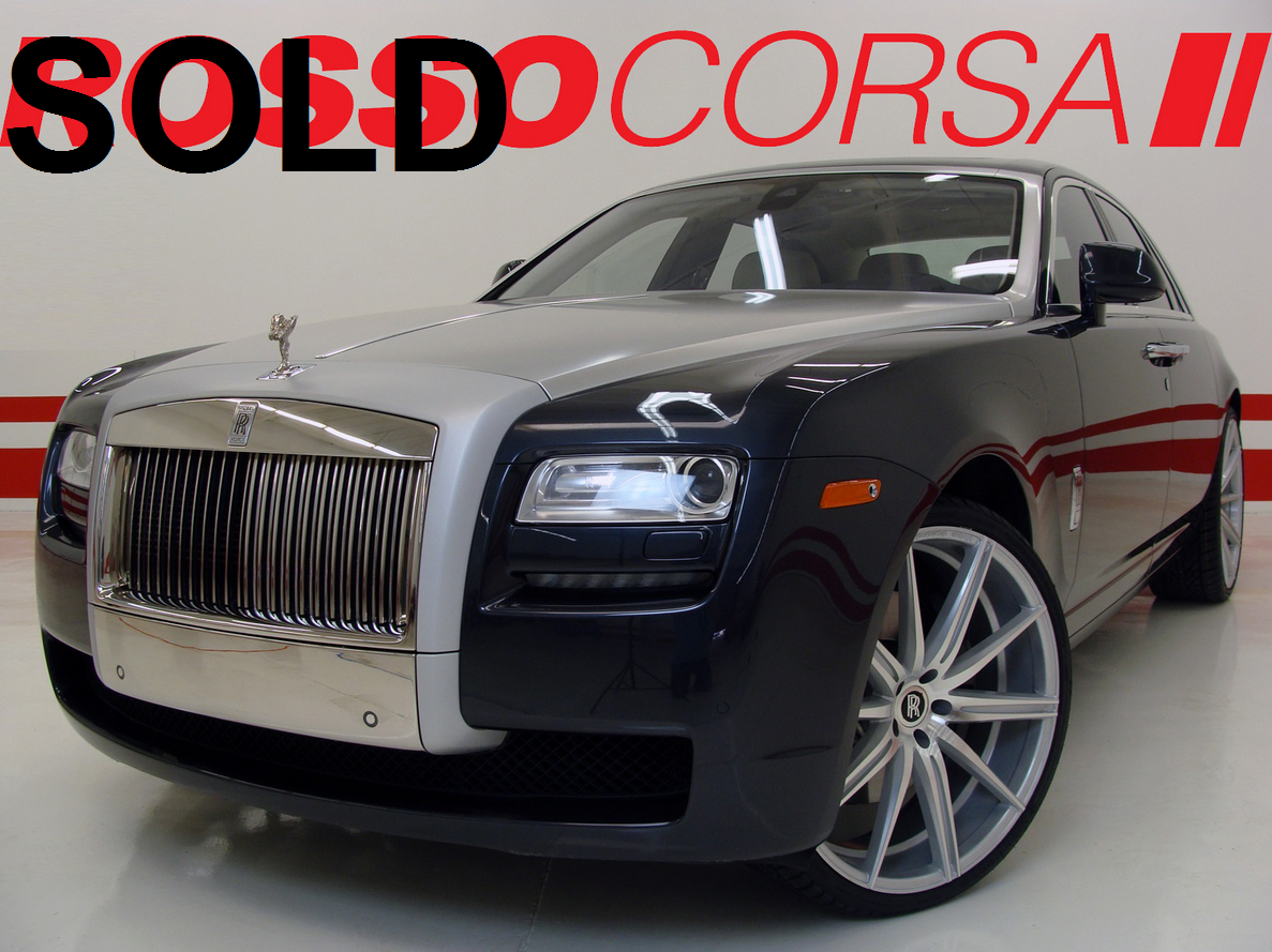 2013 Rolls-Royce Ghost ($338K MSRP)